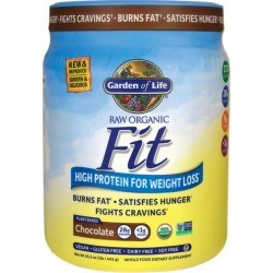 Garden of Life Raw Organic Fit High Protein for Weight Loss - Chocolate 16.3 oz Powder Weight Loss