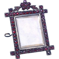 Garnet Desk Picture Frame Property Duchess Of Roxburghe, 1885