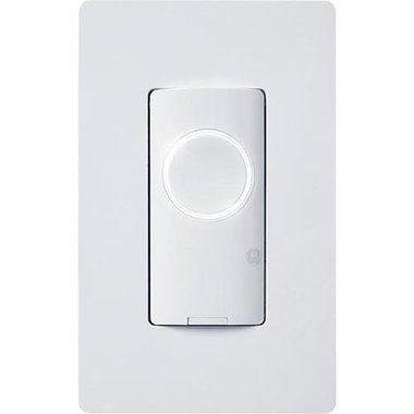 GE Lighting 93120080 On/Off 3-Wire Smart Switch Button