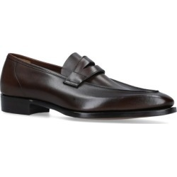 George Cleverley Leather George Loafers