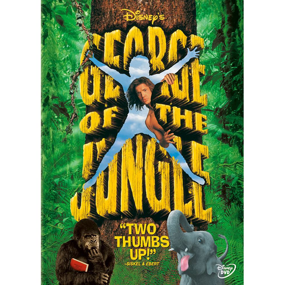 George of the Jungle DVD Official shopDisney