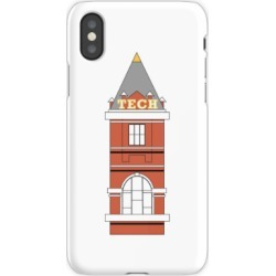 georgia tech tech tower iPhone X Snap Case