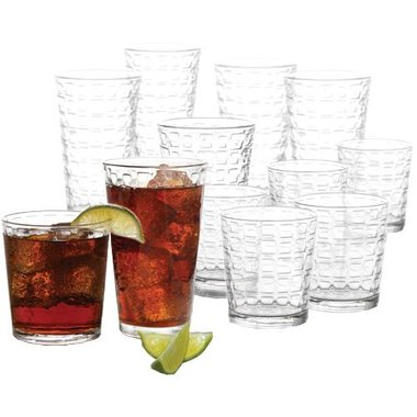 Gibson 91849.16 Great Foundations 16 Piece Glassware Set