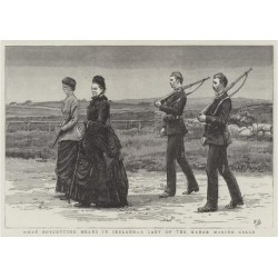 Giclee Painting: Dadd's What Boycotting Means in Ireland, a Lady of th