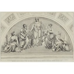 Giclee Painting: Emblematic Group of Figures, by Mr John Thomas, over