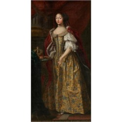 Giclee Painting: Françoise Madeleine D'Orléans (1648-166), Duchess of