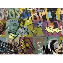 Giclee Painting: Monteavaro's Impossible, 24x18in.