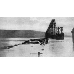 Giclee Painting: The Tay Bridge Disaster, Scotland, 28th December 1879