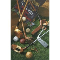 Giclee Painting: Vanderdasson's Golf Antiques, 24x16in.