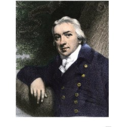 Giclee Print: Edward Jenner, Who Discovered Vaccination in 1798: 24x18in
