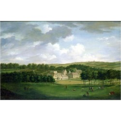 Giclee Print: Kidbrooke Park, Kent, Formerly Attributed to George Lambert (1700-65) c.1740-50 by English: 24x18in