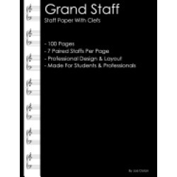 grand staff staff paper with clefs professional staff paper for writing mus