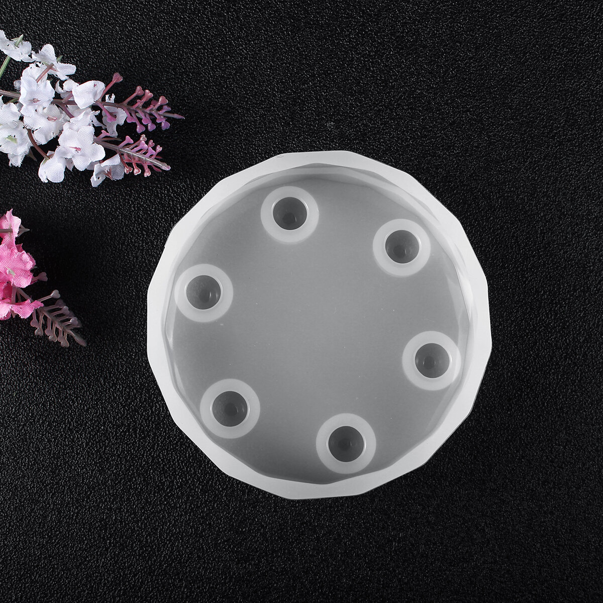 Handmade DIY Resin Casting Molds Silicone Table Mold Craft Making Mould Tool Kit