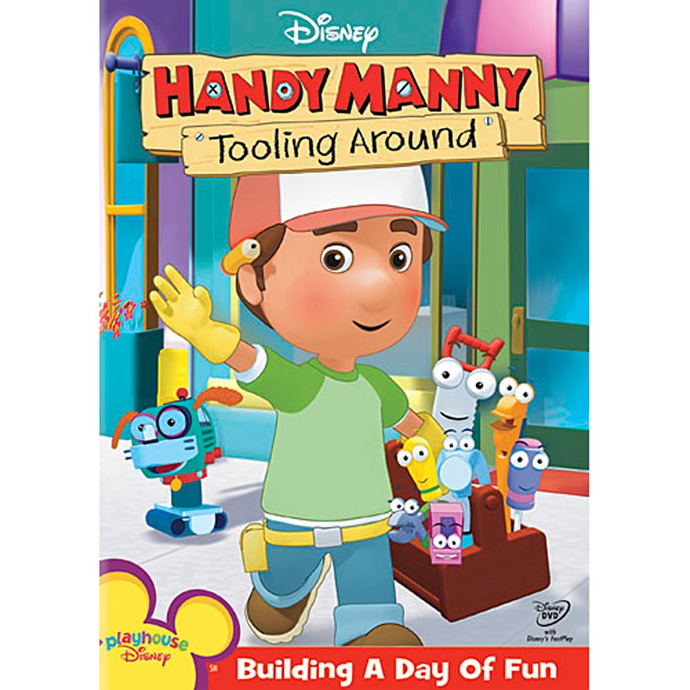 Handy Manny: Tooling Around DVD Official shopDisney