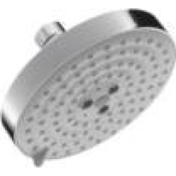 """Hansgrohe 04725 Raindance S 5 3/8"""" 2.0 GPM Wall/Ceiling Mount Multi-Function Round Showerhead"""