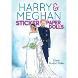 harry and meghan sticker paper dolls