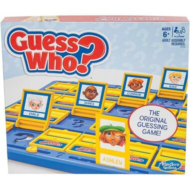 Hasbro GUESS WHO Guess Who? Classic Game