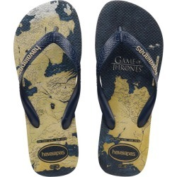 Havaianas Game Of Thrones Thongs in Sand Grey Size 16