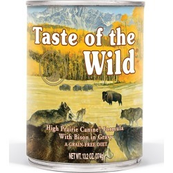 High Prairie Canine Formula Dog Food Size 13.2 oz/12 Pack by Taste of the Wild