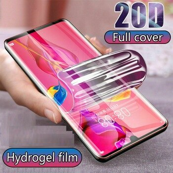 High-quality Full Cover For ZTE Blade A5 A7 2020 Screen Protector Hydrogel Film For ZTE Blade 10 Prime Protective Film
