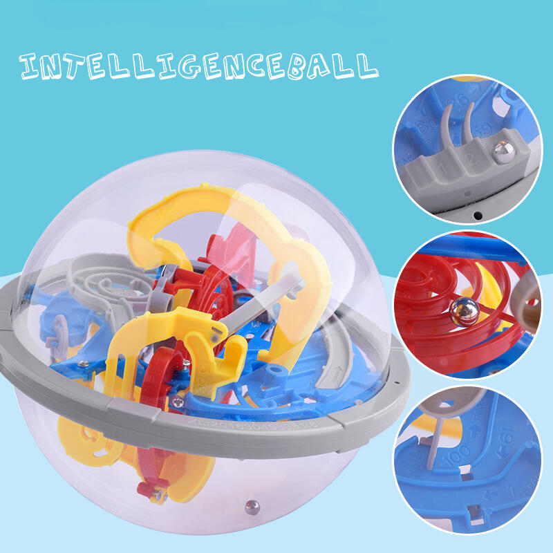Hobbies and Toys 3D Labyrinthine Puzzle Magic Ball Toys in Multicolor. Size: One Size