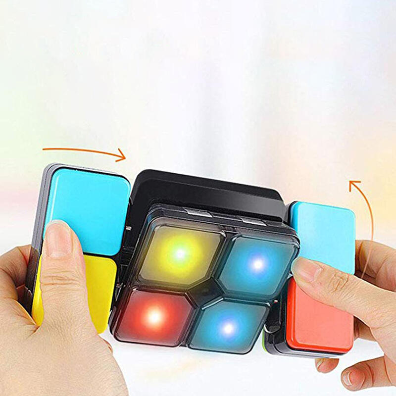 Hobbies and Toys Creative Puzzle Music Magic Cube Toy in Multicolor. Size: One Size
