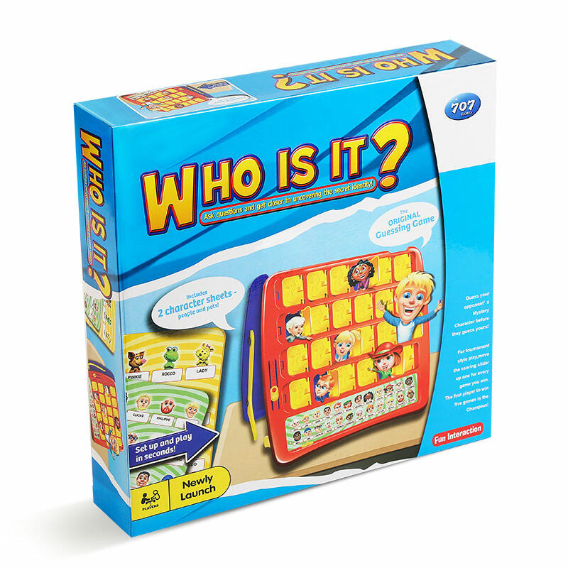 Hobbies and Toys Guess Who Classic Board Game in Multicolor. Size: One Size