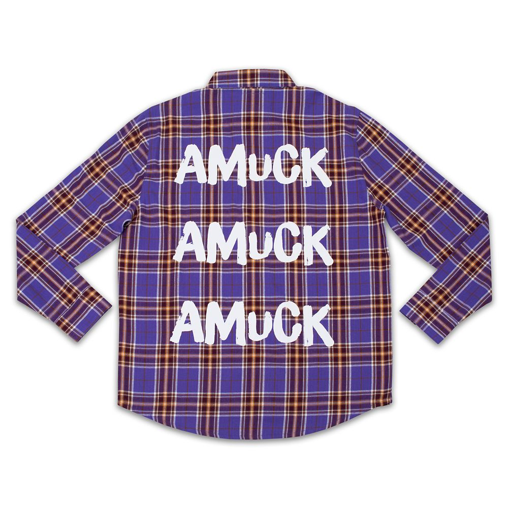 Hocus Pocus Flannel Shirt for Adults by Cakeworthy Sarah Official shopDisney
