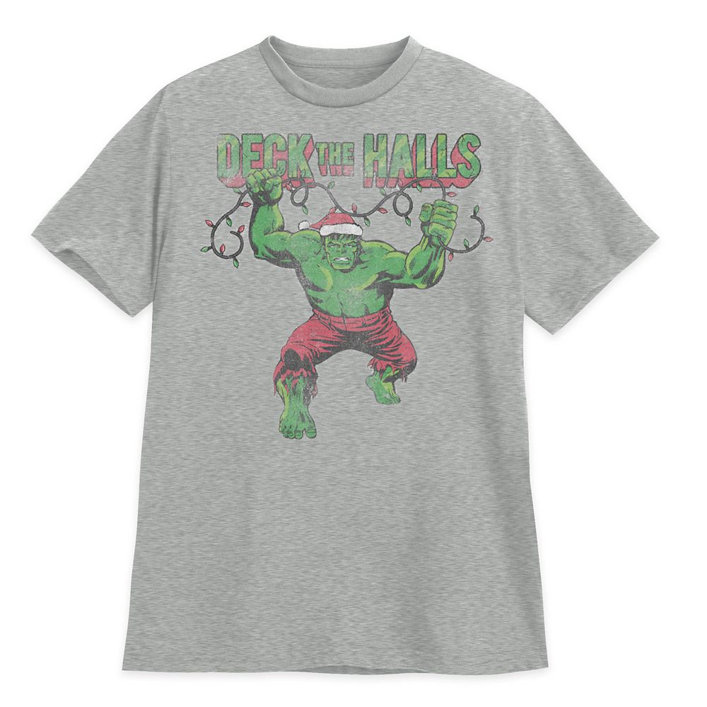 Hulk Holiday T-Shirt for Adults Official shopDisney