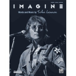 imagine piano vocal guitar sheet lennon john