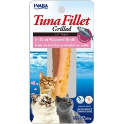 Inaba Grilled Tuna Fillet in Crab Flavored Broth For Cats | Pet Valu
