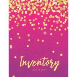 inventory log book pink gold cover simple inventory log book for business o