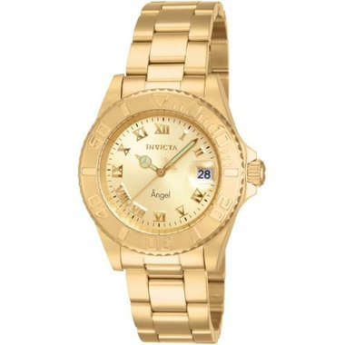 Invicta 14321 Lady's Angel Collection Gold Watch