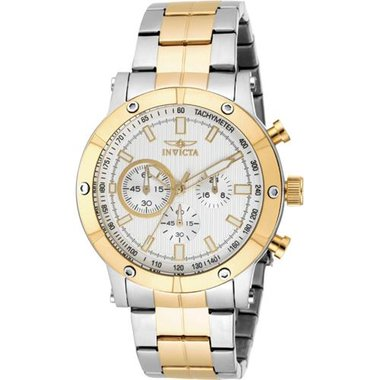 Invicta 18164 Men's Specialty Collection White And Gold Watch