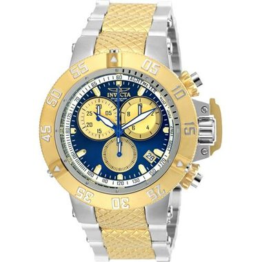 Invicta 24721 Men's Subaqua Collection Steel And Gold Watch