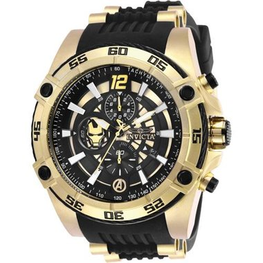 Invicta 26797 Men's Marvel Collection Silicone And Stainless Steel Watch