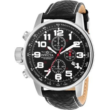 Invicta 2770 Men's I-Force Collection Leather Watch