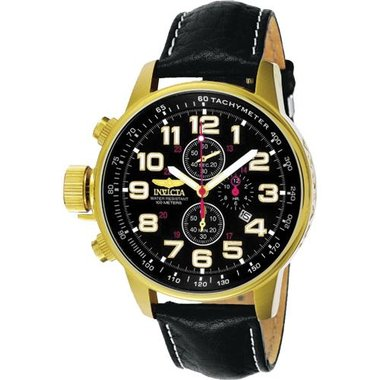 Invicta 3330 Men's I-Force Collection Leather Watch
