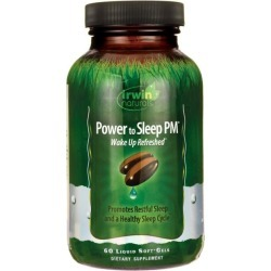 Irwin Naturals Power to Sleep Pm 60 Soft Gels Sleep and Relaxation