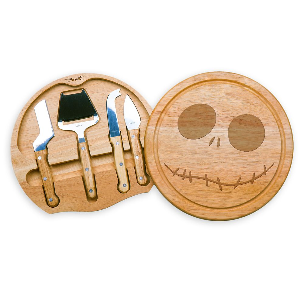 Jack Skellington Cheese Board and Tools Set Official shopDisney