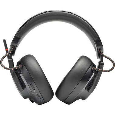 JBL JBLQUATUM600BLKAM Quantum 600 Wireless Over The Ear Gaming Headset With Game-Chat Balance Dial