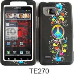 Jelly Case, Peace Symbol and Music Notes on Black