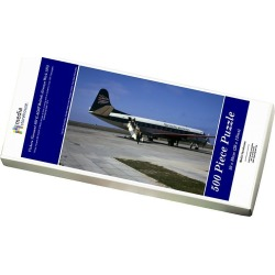 Jigsaw Puzzle. Vickers Viscount 802 G-AOJF British Airways Wick 1974