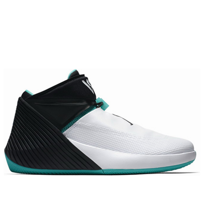 Jordan Why Not Zer0.1 'Noah' White/Black-Hyper Jade Basketball Shoes/Sneakers aa2510-103 (Size: US 8)