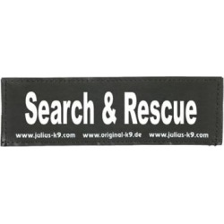 Julius-K9 Search & Rescue Changeable Patch, 162LR-G-43515