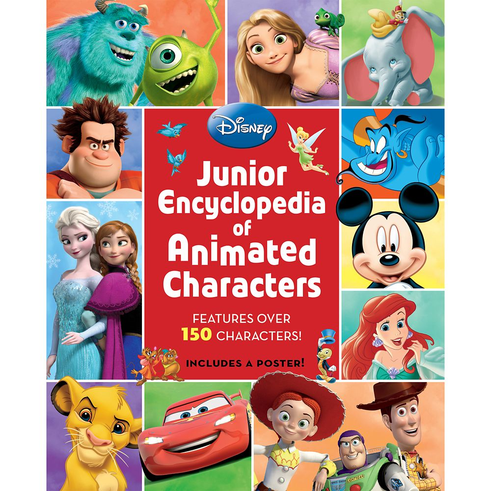 Junior Encyclopedia of Animated Characters Book Official shopDisney