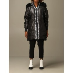 Just Cavalli Jacket Just Cavalli Mid Down Jacket With Hood And Logo