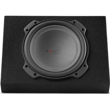 """Kenwood P-XRW1202WB Excelon Reference 12"""" Wedge Pre-Loaded Woofer Box"""
