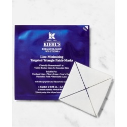 Kiehl's Since 1851 Line-Minimizing Targeted Triangle Patch-Masks, 6 Sachets