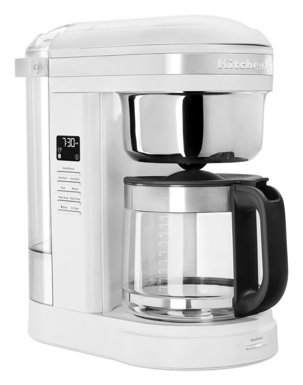 KitchenAid® 12 Cup Drip Coffee Maker with Spiral Showerhead